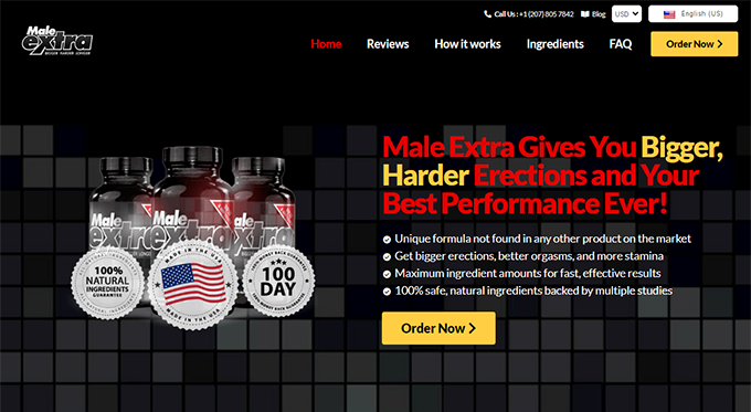 male extra singapore official website